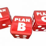 Plan A B C Dice Alternative Options Fall Back